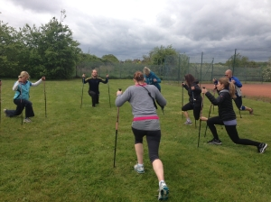 nordic lunges